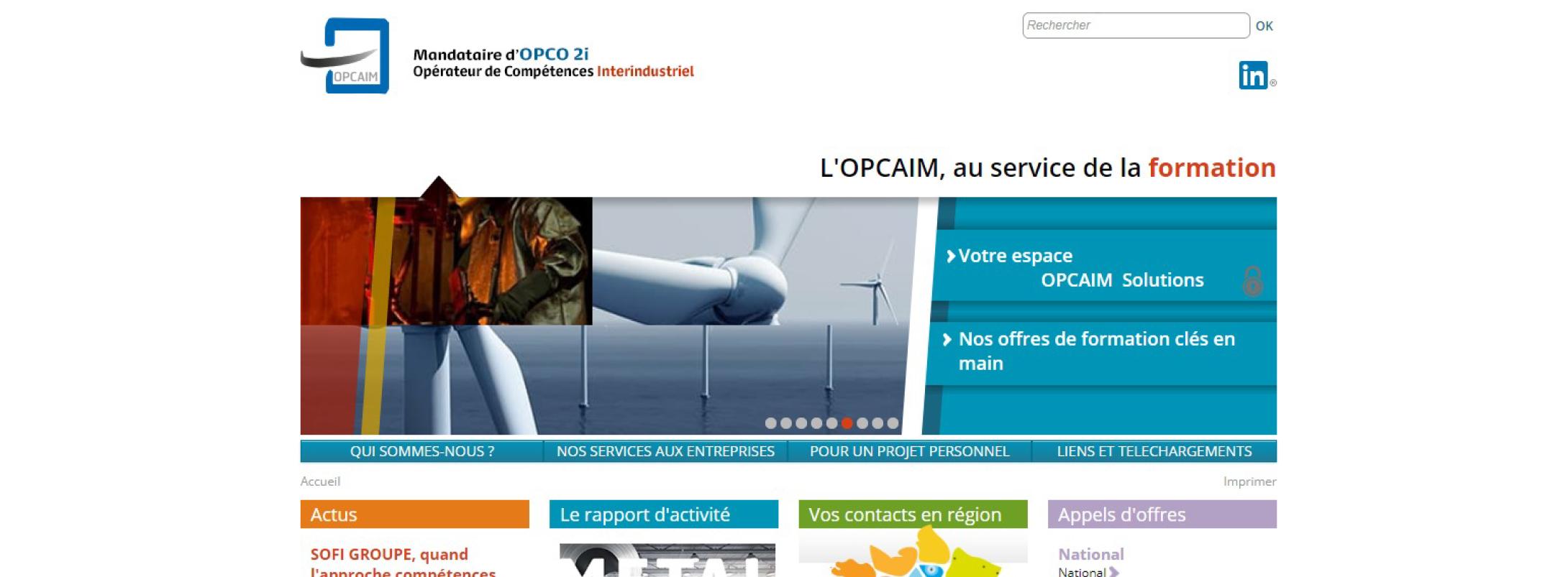 Référence OPCAIM - ITS Integra