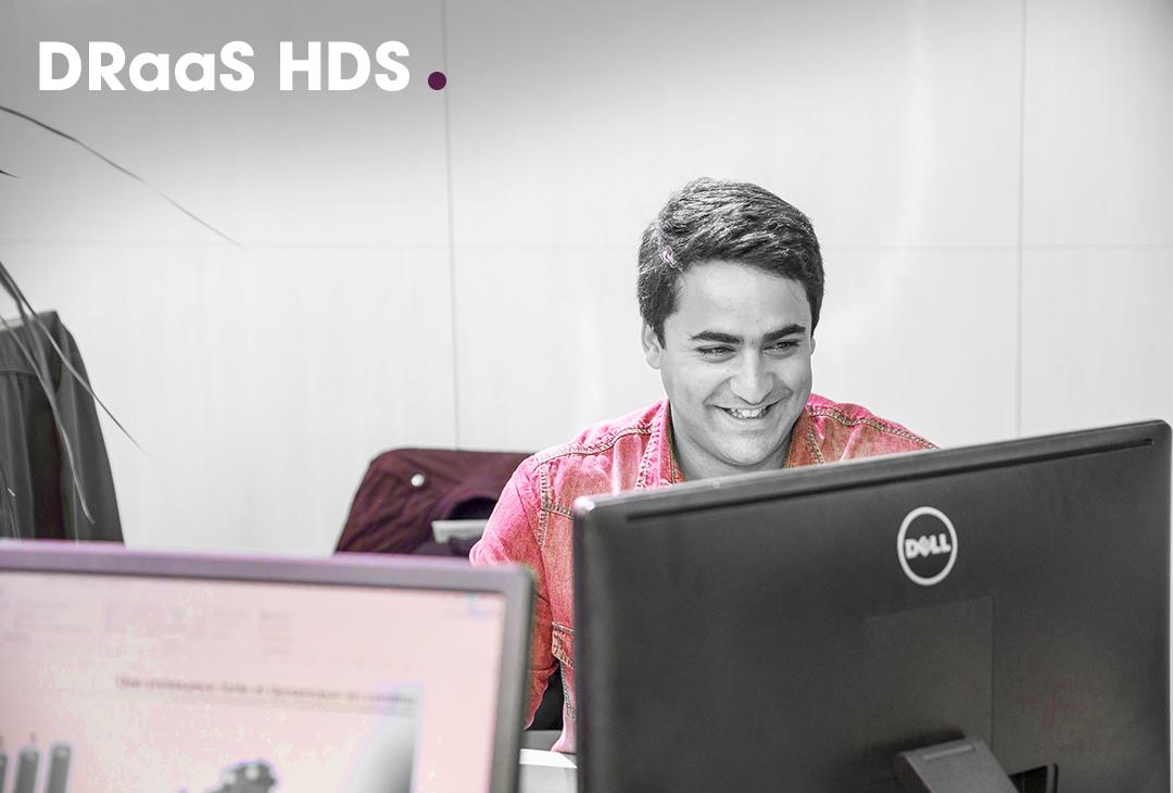 DRaaS HDS Les solutions garantissant disponibilité et continuité de service à travers la fourniture de PCA et PRA certifiés HDS.