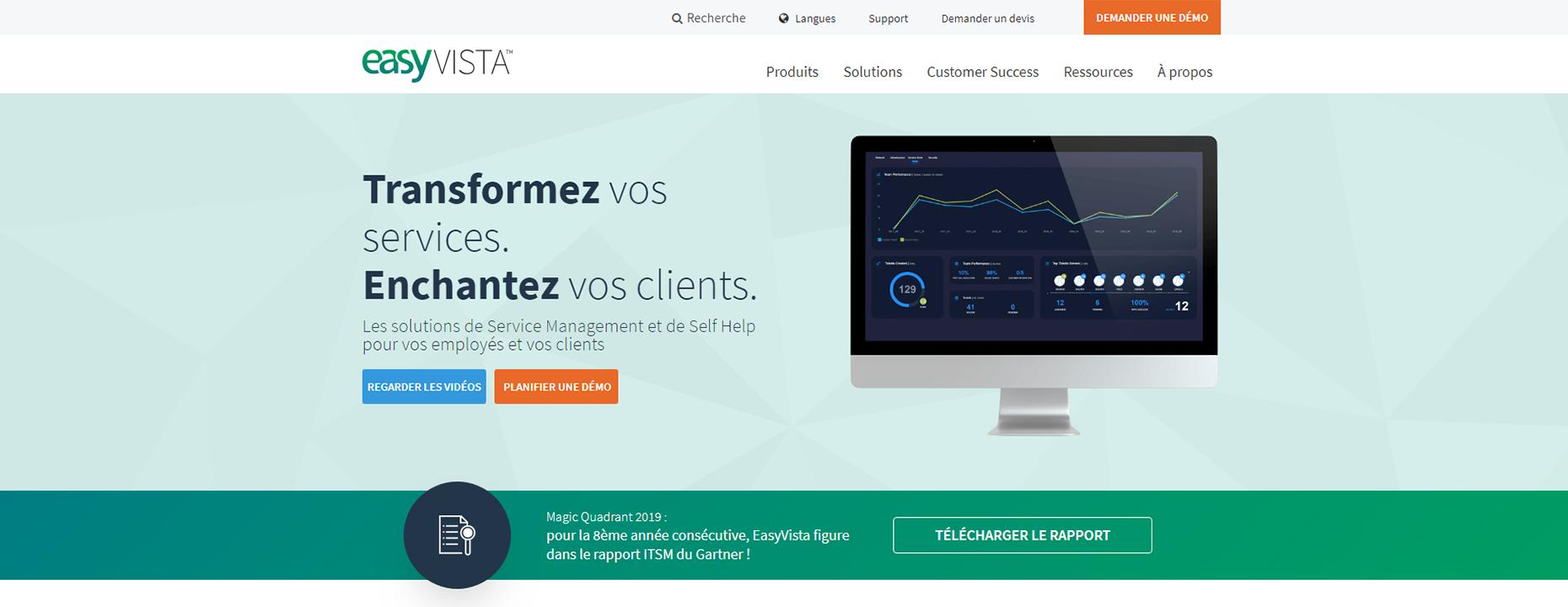 Références Easyvista - ITS Integra