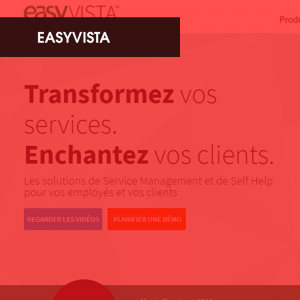 Référence Easyvista - ITS Integra